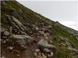 Tonnerhütte - Scharfes Eck (Seetal Alps)