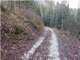 Bohinjska Bela (St. Marjeta) - Grajska planina (Ribšca)