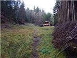 Bled (Velika Zaka) - Gozdarska koča Mali Vokel