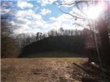 Boč...pogled na Grilov hrib...