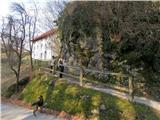 Kojca (1303m)pred Bevkovo domačijo