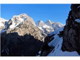 Grape, slapovi, zimski alpinistični vzponi...tudi za hrbtom ni zgledalo slabo...
