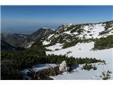 Kalški greben2019.04.20.25 pogled na Kržišče, Krvavec in Zvoh