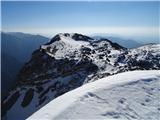 Kalški greben2019.04.20.31 Kompotela z Vrha Korena