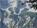 Goli vrh  1787 mnmpogled s poti proti Češki koči
