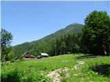 Goli vrh  1787 mnmpa sva nazaj v dolini