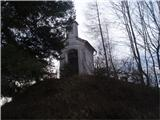 Pot po Svečinskih goricah...še ena in od te se vidi kapelica na Brlogi, ki je ena od 12 točk Šentiljske poti...